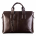 genuine leather business case briefcase portfolio