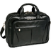 klein pearson leather expandable laptop briefcase
