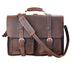 kattee real leather laptop briefcase messenger