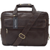 vintage leather coffee briefcase laptop messenger