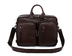 vicenzio classic genuine flex leather briefcase