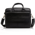 quality leather black briefcase laptop messenger