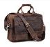 kattee crazy-horse leather briefcase shoulder business